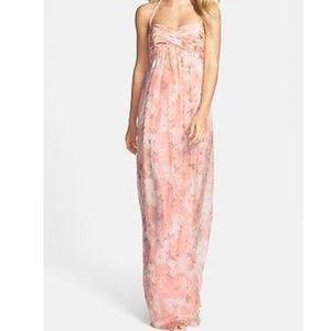 AMSALE silk dress size 10